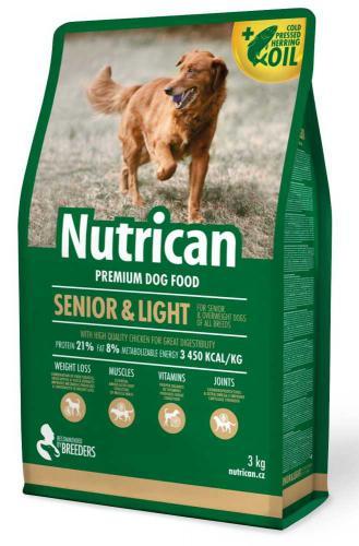 Nutrican Dog Senior & Light 3 kg