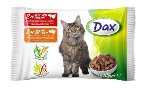 Dax Cat kapsièky 100 g (4 ks)