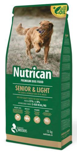 Nutrican Dog Senior & Light 15 kg