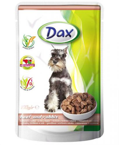 Dax Dog kapsièka hovìzí a králièí 100 g