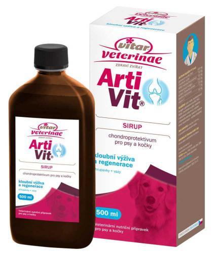 Vitar veterinae Artivit sirup 500 ml