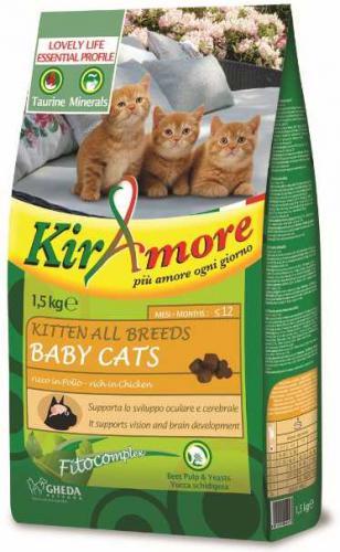 Kiramore Cat Kitten 1,5 kg