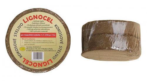 Kokosové stelivo LIGNOCEL puk 2 ks