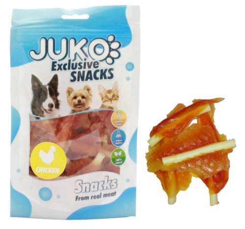 JUKO SNACKS Chicken jerky with calcium soft bone 70 g
