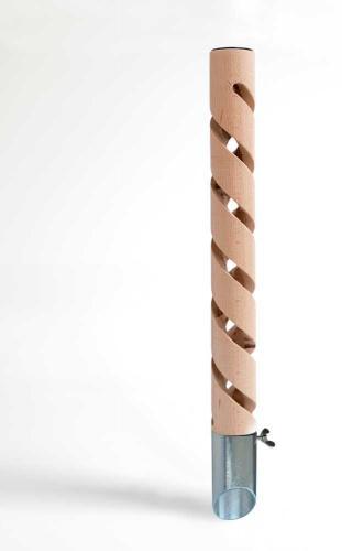 Psí pisoár design 4 døevìný 40 cm