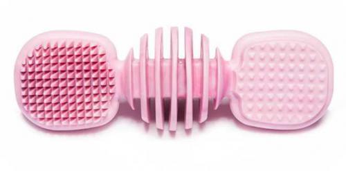 Kousací dentální kartáèek plast 19 cm