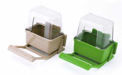 Krmítko pro ptáky 3 dílné plast