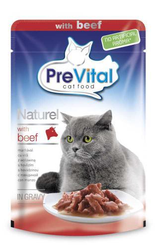 PreVital Naturel hovìzí, kapsa 85 g