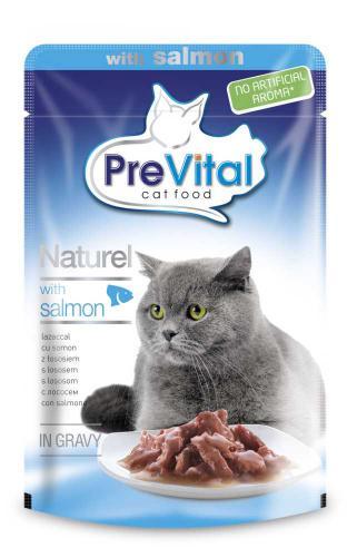PreVital Naturel losos, kapsa 85 g