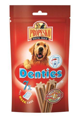 PROPESKO Dog Denties pamlsek (7 ks)