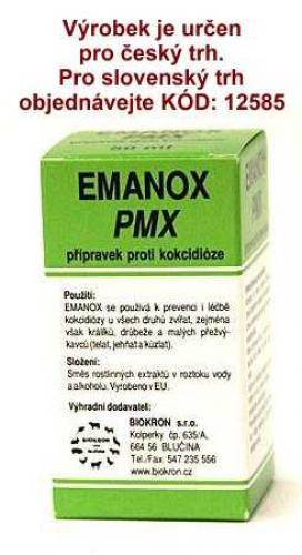 EMANOX PMX proti kokcidióze 250 ml !CZ!