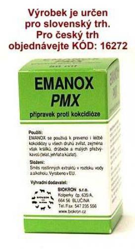 EMANOX PMX proti kokcidióze 250 ml !SK!