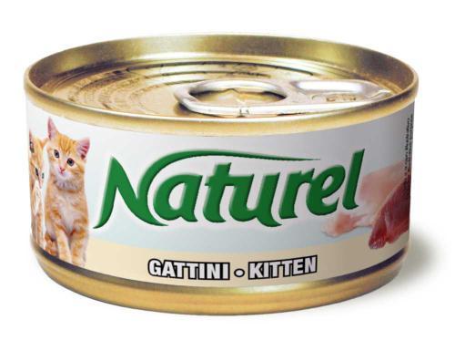 Naturel Cat Kitten, konzerva 70 g