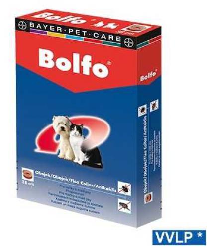 Antiparazitní obojek Bolfo Koèka a Malý pes