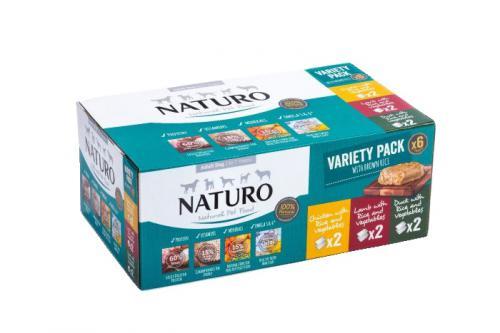 Naturo Dog Variety 400 g (6 ks)