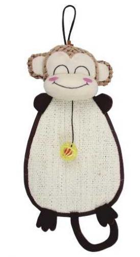 Škrábadlo opice k zavìšení s hraèkou
