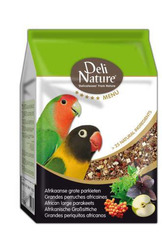 Deli Nature 5 Menu africký velký papoušek 2,5 kg