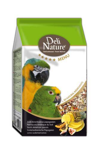 Deli Nature 5 Menu jihoamerický papoušek 800 g