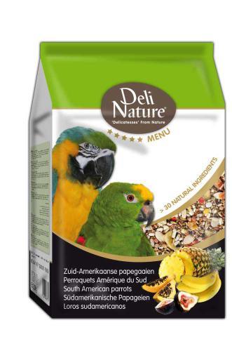 Deli Nature 5 Menu jihoamerický Papoušek 2,5 kg