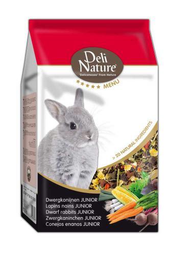 Deli Nature 5 Menu zakrslý králík junior 2,5 kg