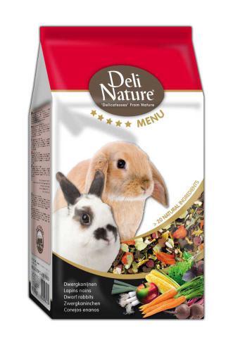Deli Nature 5 Menu zakrslý králík 750 g