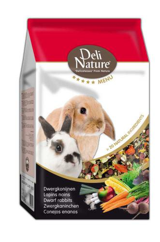 Deli Nature 5 Menu zakrslý králík 2,5 kg