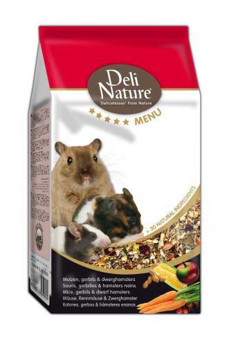 Deli Nature 5 Menu myš, pískomil, zakrslý køeèek 750 g