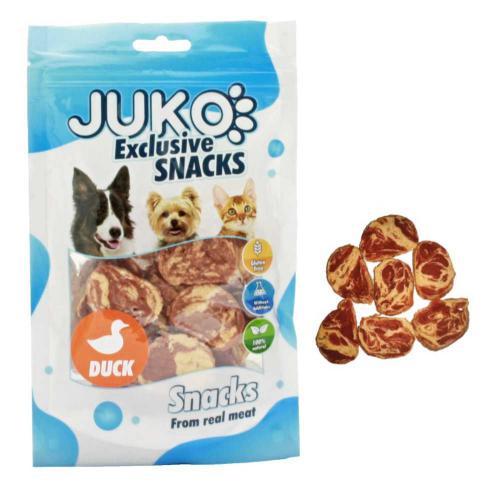 JUKO SNACKS Duck & Codfish chips 70 g