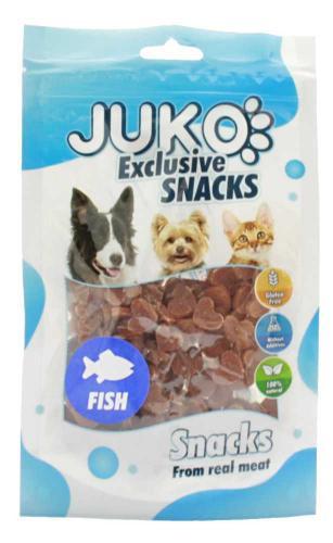 JUKO SNACKS Salmon in heart shape 70 g