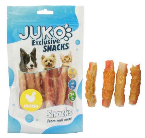 JUKO SNACKS Chicken & Crab stick 70 g