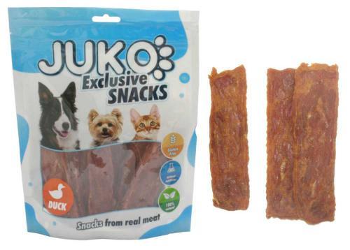 JUKO SNACKS Duck soft jerky 250 g