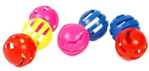 Set balónkù pro koèky s rolnièkou 3 cm (7 ks)