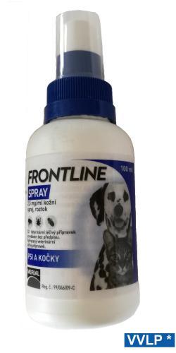 Frontline antiparazitní sprej 100 ml