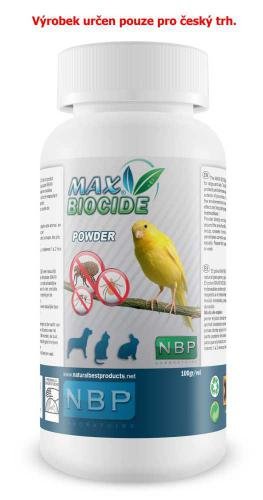 Max Biocid Bird Powder antiparizitní pudr, pták 100 g !CZ!