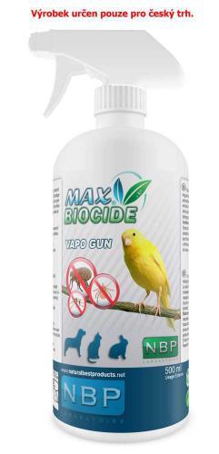 Max Biocid Bird Vapo Gun antiparazitní sprej, pták 500 ml !CZ!