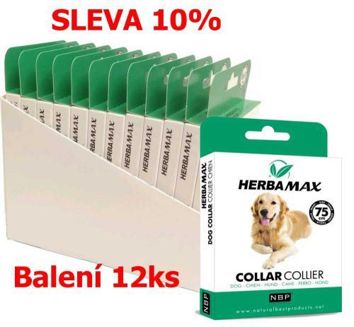 Herba Max Collar Dog antiparazitní obojek 75 cm (12 ks) SLEVA 10 %