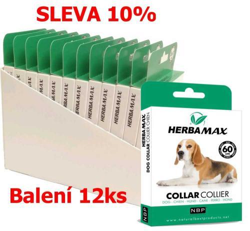 Herba Max Collar Dog antiparazitní obojek 60 cm (12 ks) SLEVA 10 %
