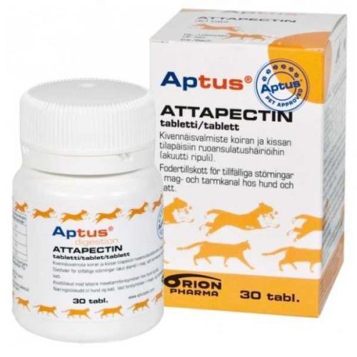 Aptus Attapectin proti prùjmu 30 tbl