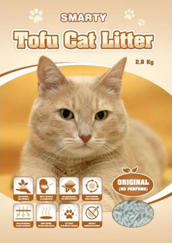 Smarty Tofu Cat Litter Original podestýlka bez vùnì 6 l