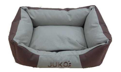 Pelíšek odolný JUKO hnìdá S 55x42x17 cm
