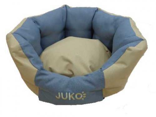 Pelíšek odolný JUKO koruna béžová XS 48x42x20 cm