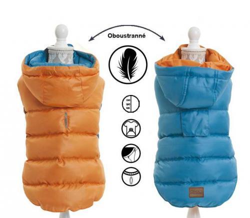 Obleèek oboustranný light weight modrooranžová 45 cm