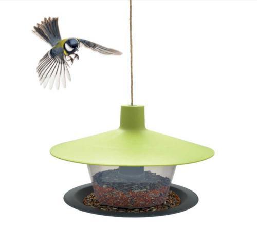 Krmítko venkovní Finch talíø zelená