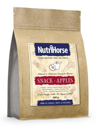 NutriHorse Snack (pochoutka pro konì) Apple 600 g