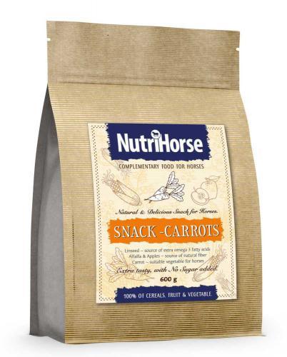 NutriHorse Snack (pochoutka pro konì) Carrot 600 g