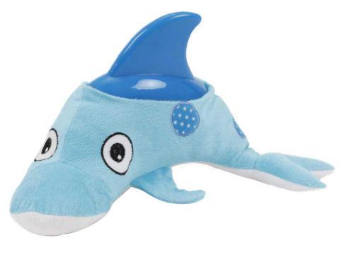 Plyšová hraèka s gumou Delfín