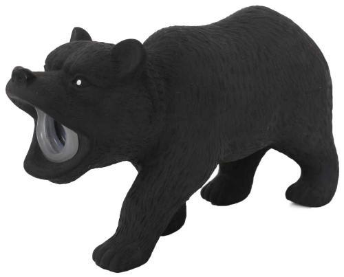 Latexový medvìd s pískadlem 15x5x9 cm