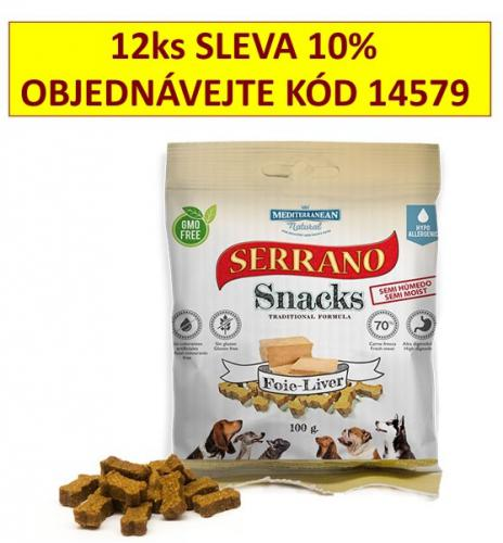 Serrano Snack for Dog Liver 100 g