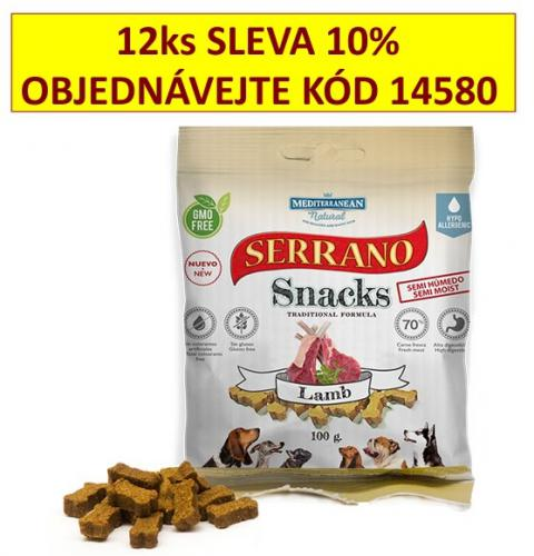 Serrano Snack for Dog Lamb 100 g