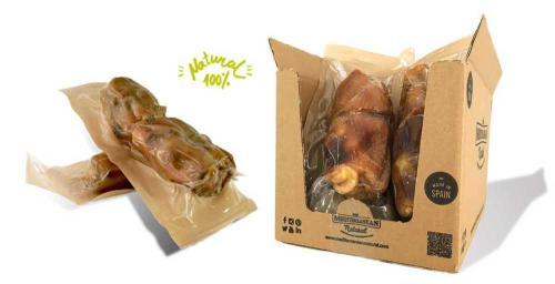 Serrano Half Mega Meaty Ham Bone - polovièní obøí šunková kost cca 550 g (2 ks)